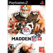Madden NFL 12 Video Game for Sony PlayStation 2