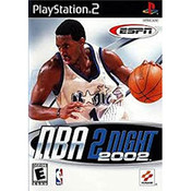 ESPN NBA 2Night 2002 Video Game for Sony Playstation 2