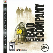 Battlefield Bad Company Video Game for Sony PlayStation 3