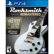 Rocksmith Remastered 2014 Video Game for Sony PlayStation 4