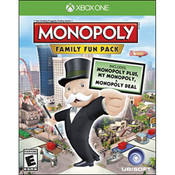 Monopoly Family Fun Pack Video Game for Microsoft Xbox One