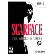 Scarface The World Is Yours Video Game for Nintendo Wii