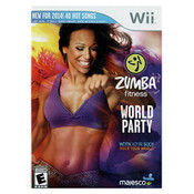 Zumba Fitness World Party Video Game for Nintendo Wii