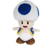 Blue Toad 8 Inch Plush