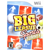 Big League Sports Summer Video Game for Nintendo Wii