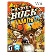 Cabela's Monster Buck Hunter Video Game for Nintendo Wii
