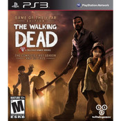 Walking Dead First Season Game of the Year Edition Video Game for Sony PlayStation 3