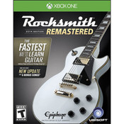 Rocksmith Remastered 2014 Video Game for Microsoft Xbox One
