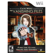 Cate West The Vanishing Files Video Game for Nintendo Wii