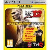 WWE 12 Wrestlemania Edition Video Game for Sony PlayStation 3