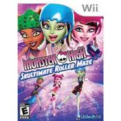 Monster High Skultimate Roller Maze Video Game for Nintendo Wii