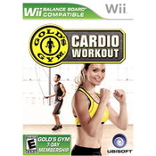Gold's Gym Cardio Workout Video Game for Nintendo Wii