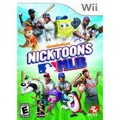 Nicktoons MLB Video Game for Nintendo Wii