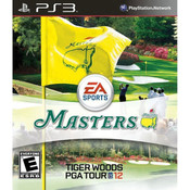Tiger Woods PGA Tour 12 Masters Video Game for Sony PlayStation 3