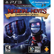 Medieval Moves Deadmund's Quest Video Game for Sony PlayStation 3