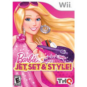 Barbie Jet, Set & Style! Video Game for Nintendo Wii