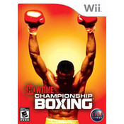 Showtime Championship Boxing Video Game for Nintendo Wii