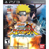 Naruto Ultimate Ninja Storm Generations Video Game for Sony PlayStation 3