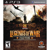 Legends of War Patton Video Game for Sony PlayStation 3