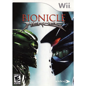 Bionicle Heroes Video Game for Nintendo Wii