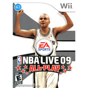 NBA Live 09 All-Play Video Game for Nintendo Wii
