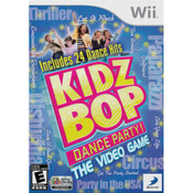 Kidz Bop Dance Party! Video Game for Nintendo Wii