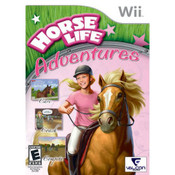 Horse Life Adventures Video Game for Nintendo Wii
