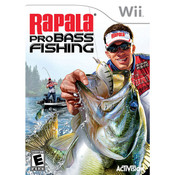 Rapala Pro Bass Fishing Video Game for Nintendo Wii