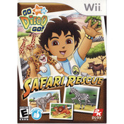 Go Diego Go! Safari Rescue Video Game for Nintendo Wii