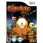 Garfield Show Threat of the Space Lasagna Video Game for Nintendo Wii
