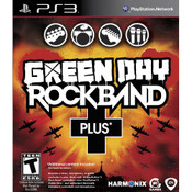 Green Day Rockband Plus Video Game for Sony PlayStation 3
