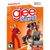 Glee Karaoke Revolution Vol. 3 Video Game for Nintendo Wii