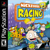 Nicktoons Racing Video Game for Sony PlayStation