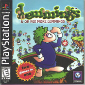 Lemmings Video Game for Sony PlayStation
