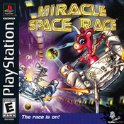 Miracle Space Race Video Game for Sony PlayStation