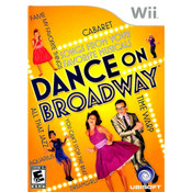 Dance on Broadway Video Game for Nintendo Wii
