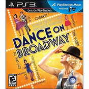 Dance on Broadway Video Game for Sony PlayStation 3
