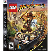 LEGO Indiana Jones 2 The Adventure Continues Video Game for Sony PlayStation 3