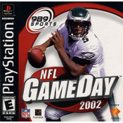 NFL Gameday 2002 Video Game for Sony PlayStation