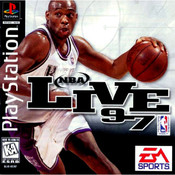 NBA Live 97 Video Game for Sony PlayStation