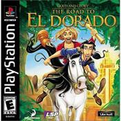 Road to El Dorado Video Game for Sony PlayStation