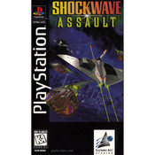 Shockwave Assault Long Box Video Game for Sony PlayStation