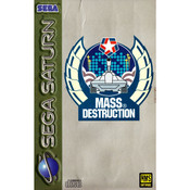Mass Destruction Video Game for Sega Saturn