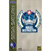 Mass Destruction Video Game for Sega Saturn