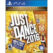 Just Dance 2016 Gold Video Game for Sony PlayStation 4