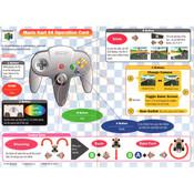 Mario Kart 64 - N64 Operation Card