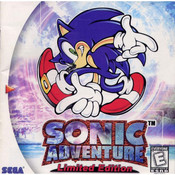 Sonic Adventure Limited Edition Video Game for Sega Dreamcast