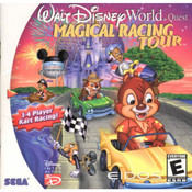 Walt Disney World Magical Racing Tour Video Game for Sega Dreamcast