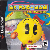 Ms. Pac-Man Maze Madness Video Game for Sega Dreamcast