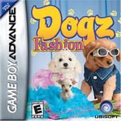 Complete Dogz Fashion Video Game for GBA